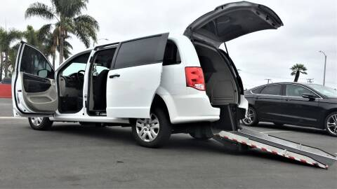 2019 Dodge Grand Caravan for sale at CARSTER in Huntington Beach CA