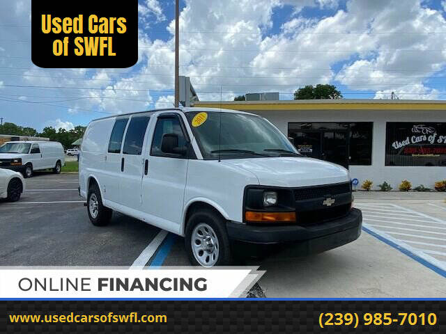 2011 Chevrolet Express Cargo for sale at Used Cars of SWFL in Fort Myers FL