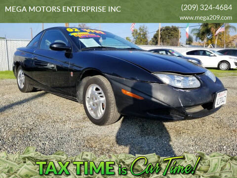 2002 Saturn S-Series for sale at MEGA MOTORS ENTERPRISE INC in Modesto CA