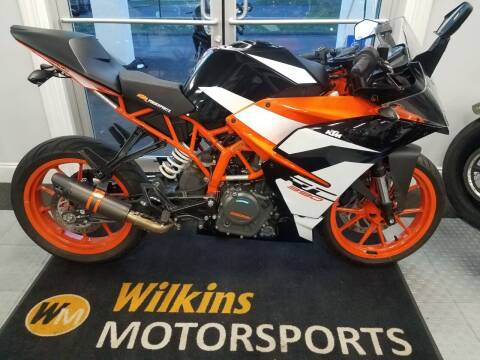 2018 KTM RC 390 ABS for sale at WILKINS MOTORSPORTS in Brewster NY