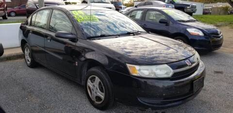 2004 Saturn Ion for sale at ABC Auto Sales and Service in New Castle DE