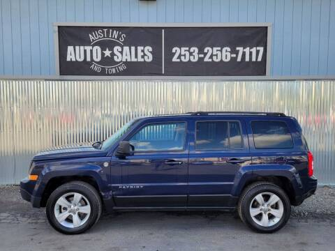 2012 Jeep Patriot for sale at Austin's Auto Sales in Edgewood WA