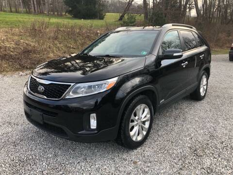 2014 Kia Sorento for sale at R.A. Auto Sales in East Liverpool OH