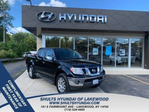 2013 Nissan Frontier for sale at Shults Hyundai in Lakewood NY