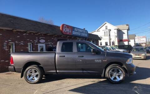 2016 RAM Ram Pickup 1500 for sale at RAYS AUTOMOTIVE SERVICE CENTER INC in Lowell MA