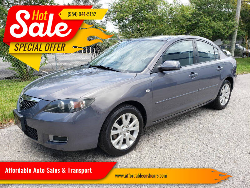 2008 Mazda MAZDA3 for sale at Affordable Auto Sales & Transport in Pompano Beach FL