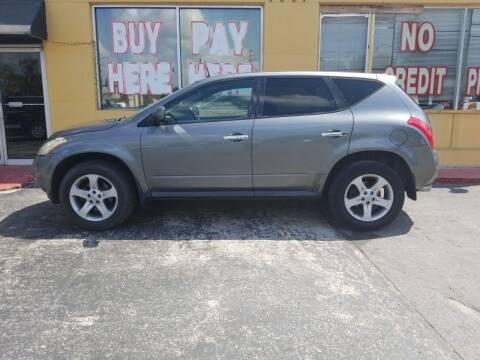 2005 Nissan Murano for sale at BSS AUTO SALES INC in Eustis FL