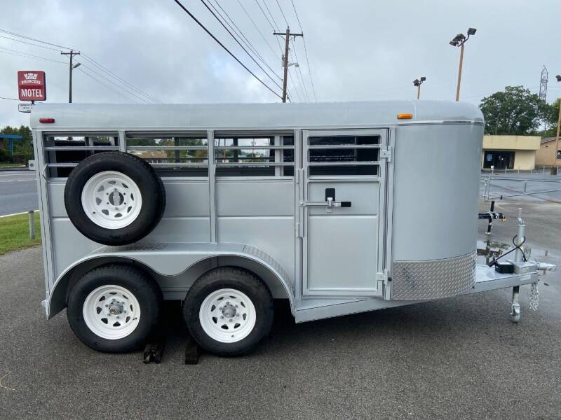 2022 Calico 5x5x12 for sale at STOP N GO MOTORS - Horse & Livestock Trailers in Maryville TN