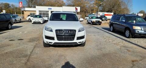 2015 Audi Q7 for sale at Lyman Autogroup LLC. in Lyman SC