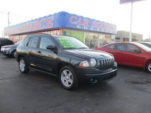 2008 Jeep Compass for sale at CAR SOURCE OKC in Oklahoma City OK