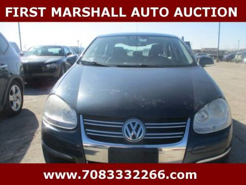 2008 Volkswagen Jetta for sale at First Marshall Auto Auction in Harvey IL