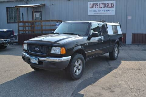 2003 Ford Ranger for sale at Dave's Auto Sales in Winthrop MN
