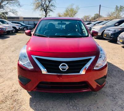 2015 Nissan Versa for sale at Good Auto Company LLC in Lubbock TX