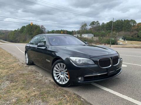2012 BMW 7 Series for sale at Anaheim Auto Auction in Irondale AL