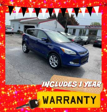 2013 Ford Escape for sale at LAUER BROTHERS AUTO SALES in Dover PA