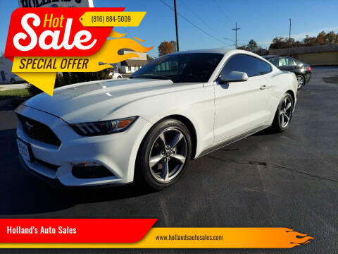 2016 Ford Mustang for sale at Holland's Auto Sales in Harrisonville MO