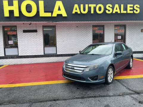 2012 Ford Fusion for sale at HOLA AUTO SALES CHAMBLEE- BUY HERE PAY HERE - in Atlanta GA