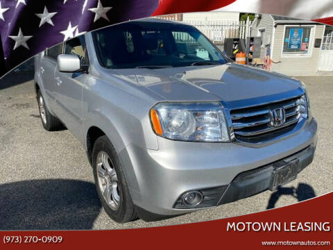 2012 Honda Pilot for sale at Motown Leasing in Morristown NJ