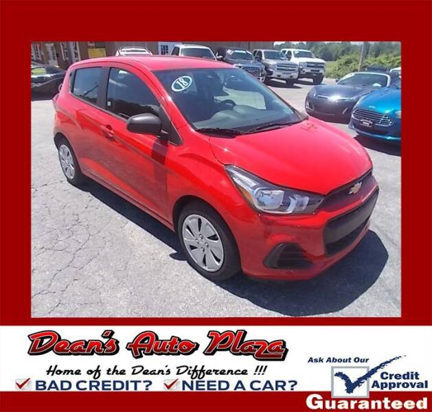 2018 Chevrolet Spark for sale at Dean's Auto Plaza in Hanover PA