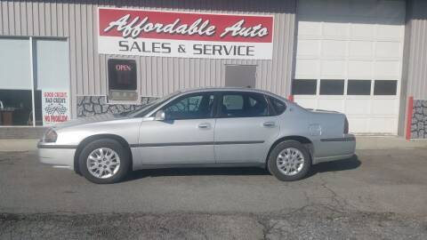 2003 Chevrolet Impala for sale at Affordable Auto Sales & Service in Berkeley Springs WV
