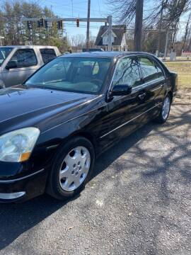 2003 Lexus LS 430 for sale at Whiting Motors in Plainville CT
