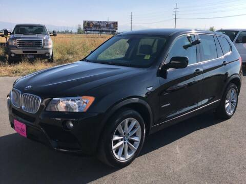 2014 BMW X3 for sale at Snyder Motors Inc in Bozeman MT