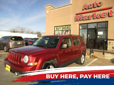 2014 Jeep Patriot for sale at Auto Market in Oklahoma City OK