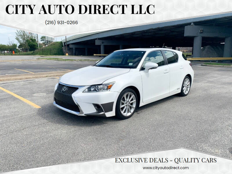 2013 Lexus CT 200h for sale at City Auto Direct LLC in Cleveland OH