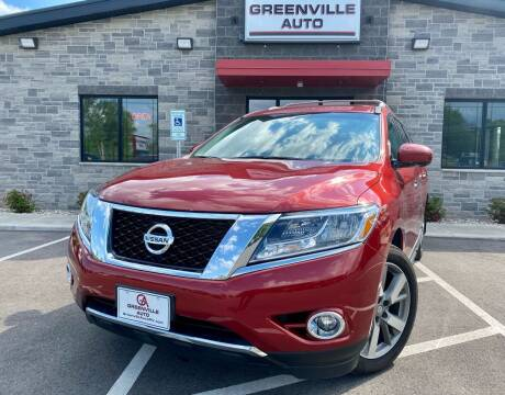 2014 Nissan Pathfinder for sale at GREENVILLE AUTO in Greenville WI