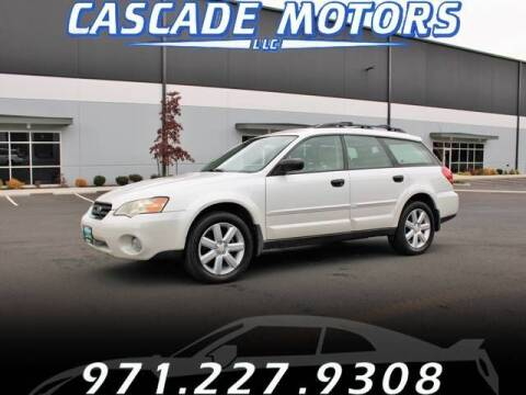 2006 Subaru Outback for sale at Cascade Motors in Portland OR