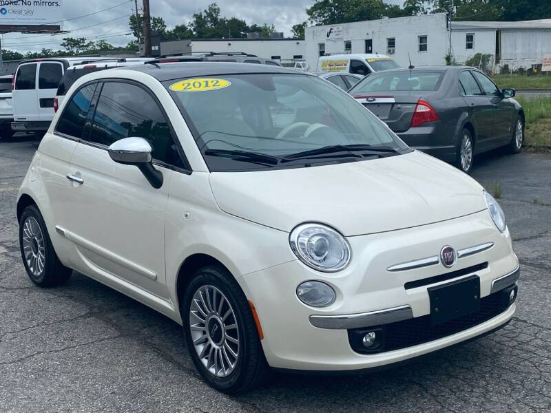 2012 FIAT 500 for sale at MetroWest Auto Sales in Worcester MA