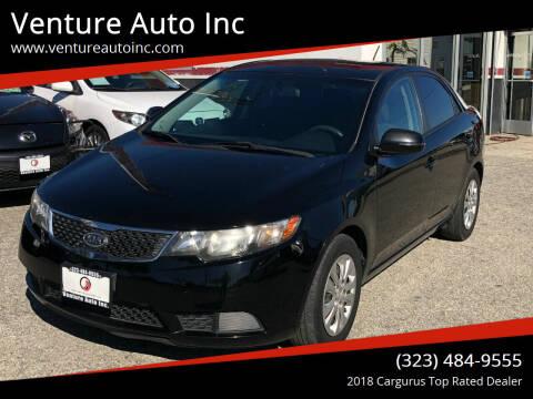 2012 Kia Forte for sale at Venture Auto Inc in South Gate CA