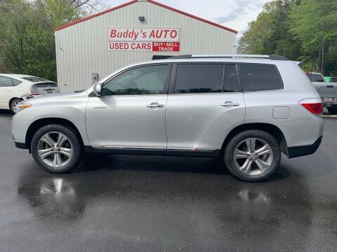 2011 Toyota Highlander for sale at Buddy's Auto Inc in Pendleton SC