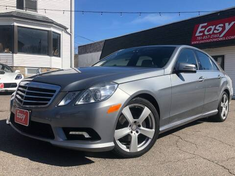 2010 Mercedes-Benz E-Class for sale at Easy Autoworks & Sales in Whitman MA