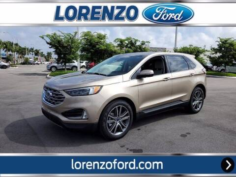 2021 Ford Edge for sale at Lorenzo Ford in Homestead FL