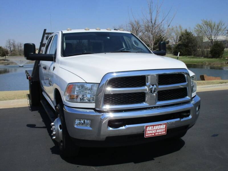 2017 RAM Ram Chassis 3500 for sale at Oklahoma Trucks Direct in Norman OK