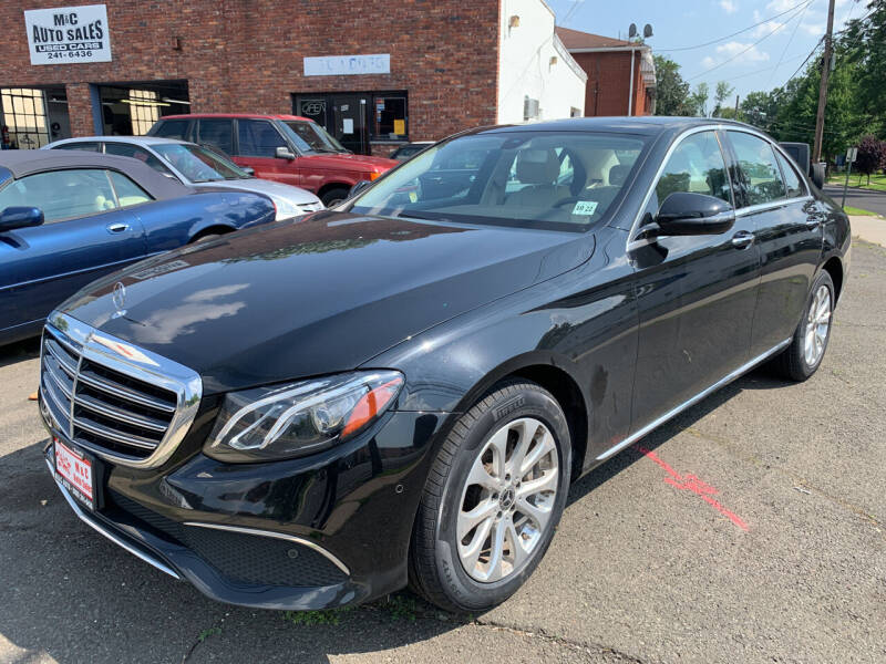 2018 Mercedes-Benz E-Class for sale at M & C AUTO SALES in Roselle NJ