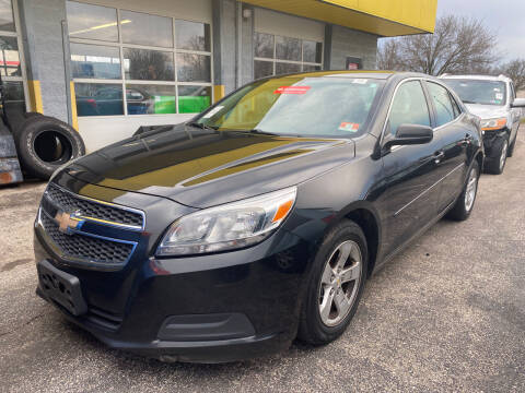 2013 Chevrolet Malibu for sale at McNamara Auto Sales - Kenneth Road Lot in York PA