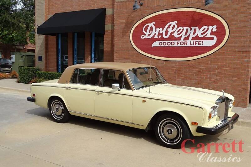 1976 Rolls-Royce Silver Shadow for sale at Garrett Classics in Lewisville TX