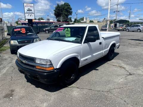2002 Chevrolet S-10 for sale at LINDER'S AUTO SALES in Gastonia NC