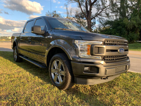 2019 Ford F-150 for sale at Nation Autos Miami in Hialeah FL