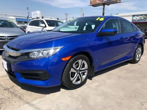 2016 Honda Civic for sale at MAGIC AUTO SALES, LLC in Nampa ID
