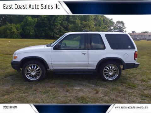 2000 Ford Explorer for sale at East Coast Auto Sales llc in Virginia Beach VA