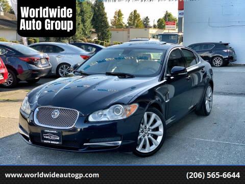 2011 Jaguar XF for sale at Worldwide Auto Group in Auburn WA