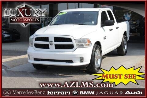 2017 RAM Ram Pickup 1500 for sale at Luxury Motorsports in Phoenix AZ