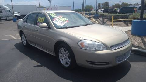 2012 Chevrolet Impala for sale at CAMEL MOTORS in Tucson AZ