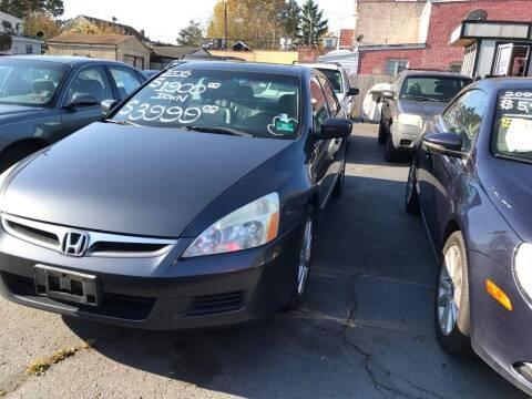 2006 Honda Accord for sale at Chambers Auto Sales LLC in Trenton NJ