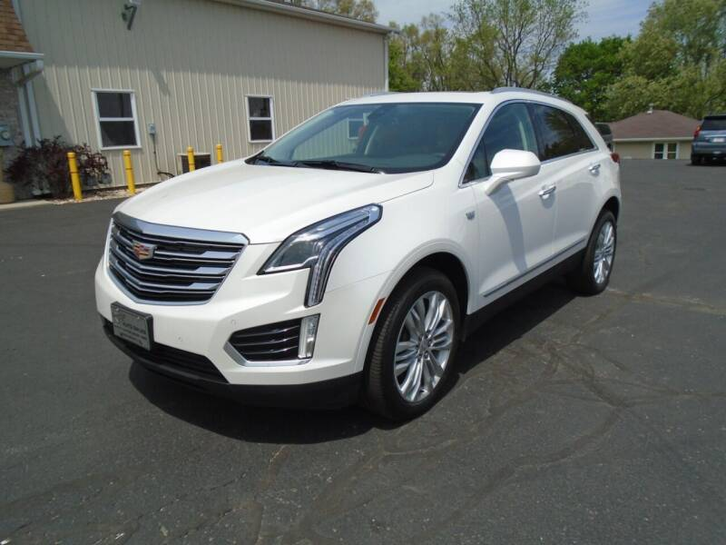 2017 Cadillac XT5 for sale at Ritchie Auto Sales in Middlebury IN