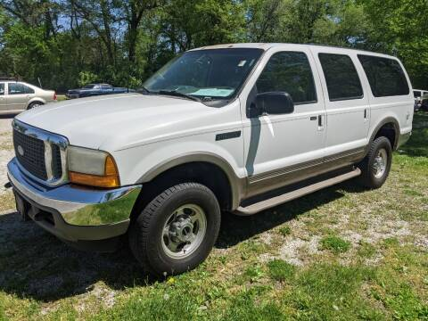 2000 Ford Excursion for sale at AUTO PROS SALES AND SERVICE in Belleville IL