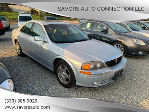 2000 Lincoln LS for sale at SAVORS AUTO CONNECTION LLC in East Liverpool OH